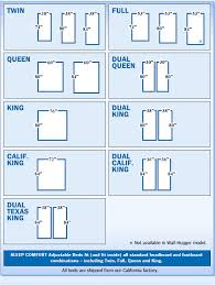 beds sizes