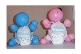 boy baby shower centerpieces