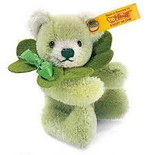 green teddybear