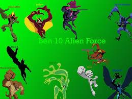 ben 10 alien force alien pictures