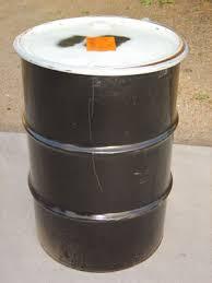 metal barrels