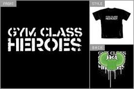 gym class heroes t shirts