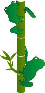 frog stencils