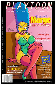 marge simpson playtoon