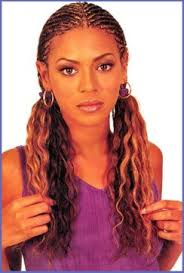 black hairstyles with color