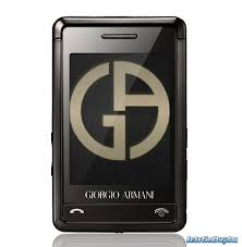 armani mobile phones