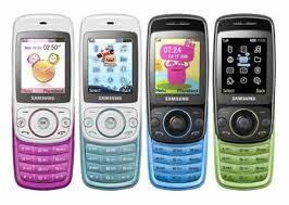 blue slider phone