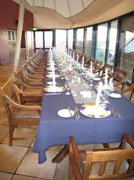 large dinner table