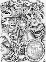 aztec lowrider art