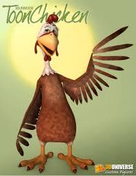 3d chicken
