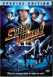 starship troopers 2 dvd