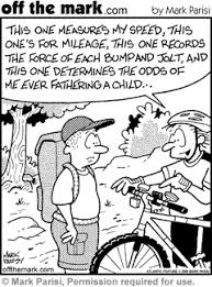 mountain bike cartoon
