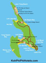 map of phi phi