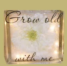 glass block craft projects