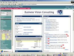 intranet homepage