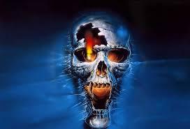 free skull screensavers