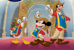 the three musketeers mickey