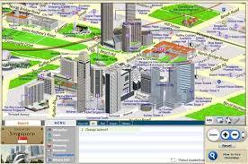 singapore 3d map