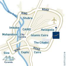 cairo airport map