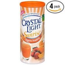 crystal light sunrise