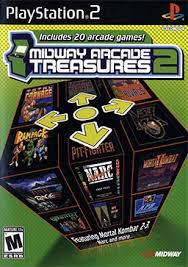 midway arcade treasures 2 ps2