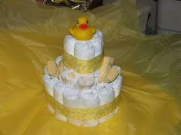 diaper cakes baby showers