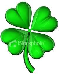 four leaf shamrocks