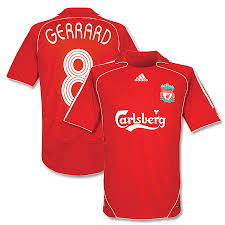 old liverpool shirt