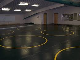 high school wrestling mats