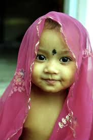 indian baby photo