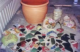 mosaic planters