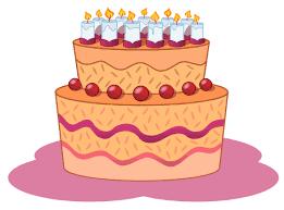 cartoon birthday cake pictures