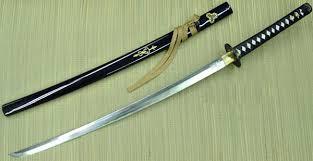 kill bill samurai swords