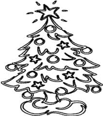 colouring christmas tree