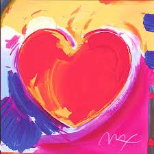 peter max hearts