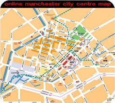 manchester city centre maps