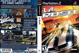 la rush playstation 2