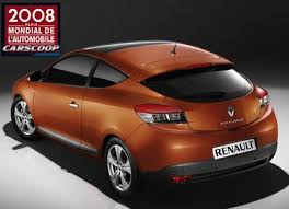 new renault megane coupe 2009