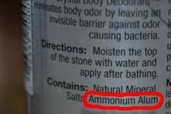 deodorant ingredients