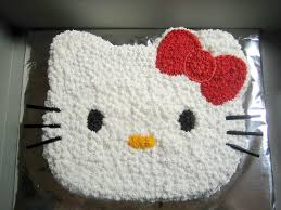 hello kitty cake decorating