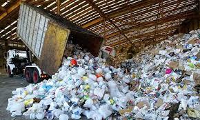 plastic bottles landfills