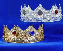 prom king and queen crowns