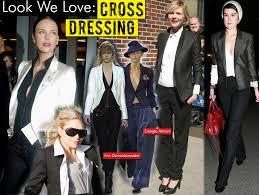 cross dressing woman