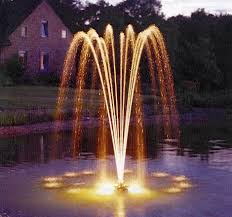 pond water fountain