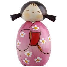 japanese wooden dolls