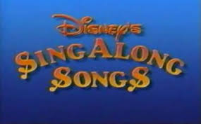 disney sing along songs video