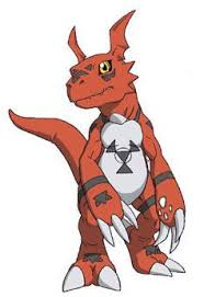 Digimon Adopts Xaki Game Guilmon