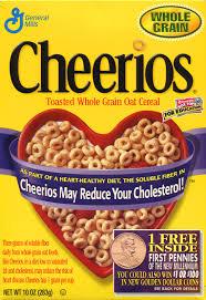 cheerios nutrition information