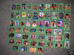 power rangers trading cards