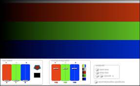 display color test